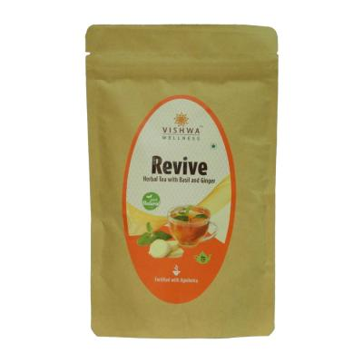 REVIVE HERBAL TEA WITH BASIL AND GINGER (Kidney Care)