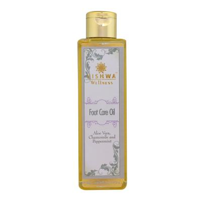 FOOT CARE OIL WITH ALOE VERA, CHAMOMILE AND PEPPERMINT